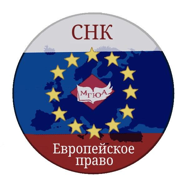 Наука СНК кафедры интеграционного и европейского права Европейский клуб МГЮА существует уже более 10 лет регулярно проводя свои заседания про различным